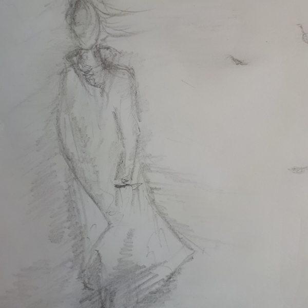 """Рисунок """"Настроение на бумаге"""""""